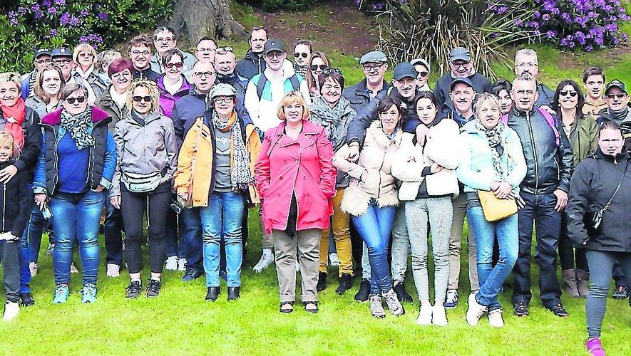 Les salariés de Jing Jiang Sam ont visité l'Irlande.