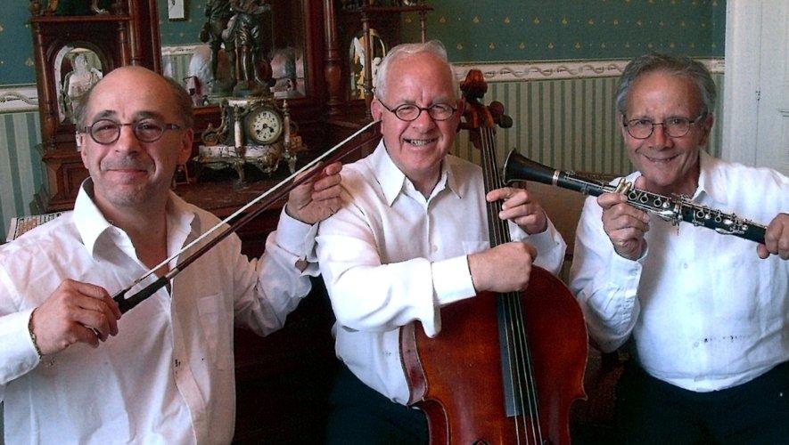 Le trio Claripia'Cello donnera un concert en l'église de Firmi.