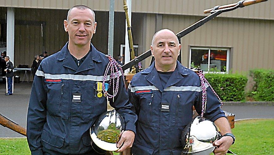 Benoît Tomczak (chef) et son adjoint Gilles Escuyet.