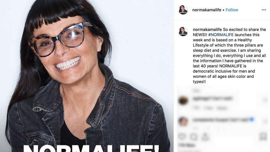 La créatrice de mode Norma Kamali est prête à se mesurer à l'univers des cosmétiques