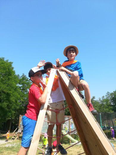 Les enfants ont bénéficié de nombreuses activités.