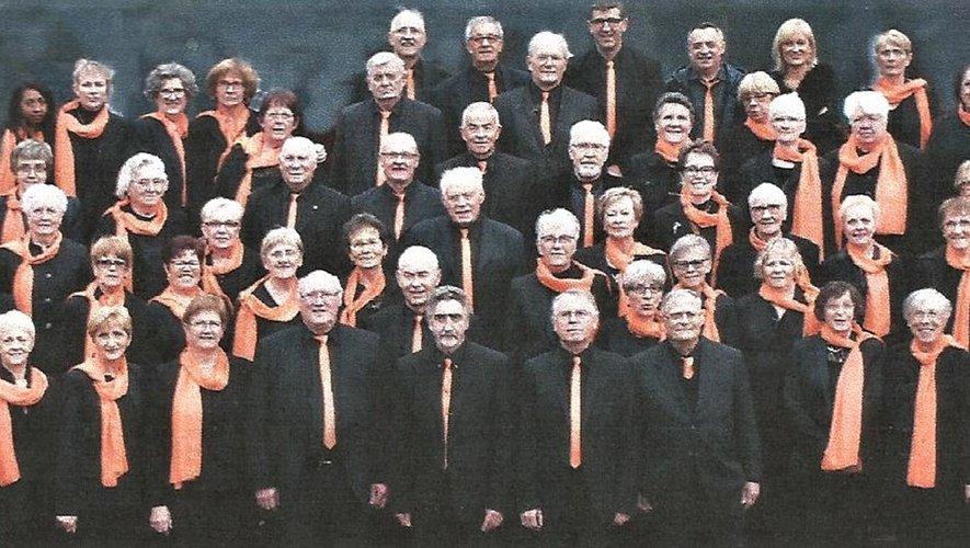 Une formation de 40 choristes pour un concert exceptionnel.