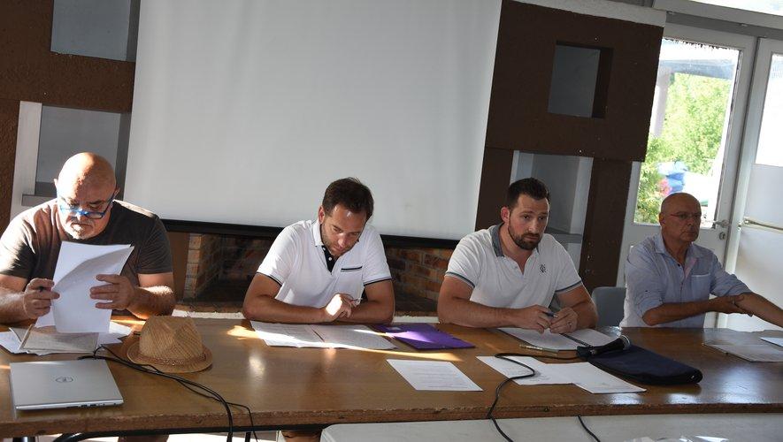 Avec le renfort de Gérard Roquefort, Jean-Philippe Ginisty et Yannick Véron vont continuer à conduire les destinées du club la saison prochaine.