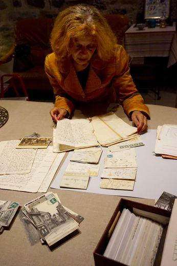 Maryse Champomier fait partager sa plongée dans les archives du Carladez.