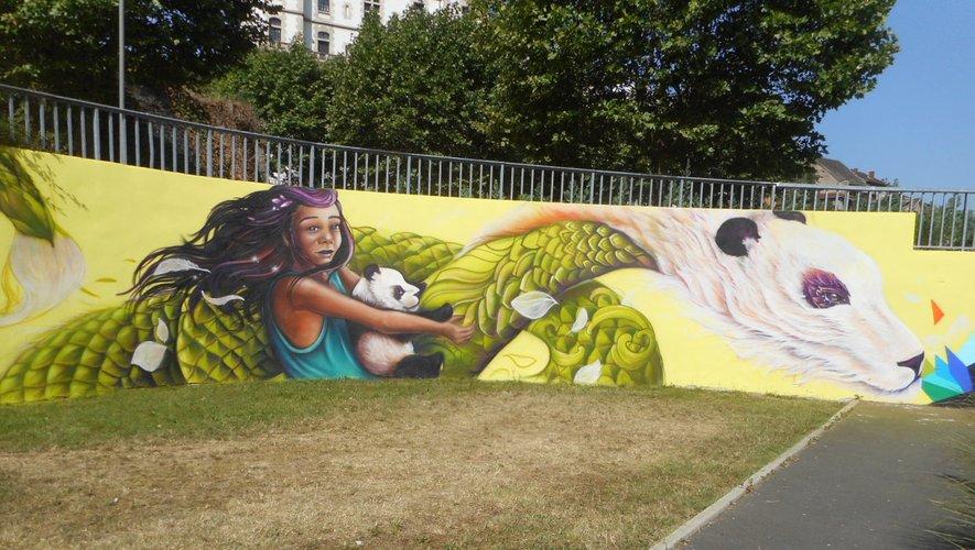Des chefs d'entreprise se retrouvent autour du street art