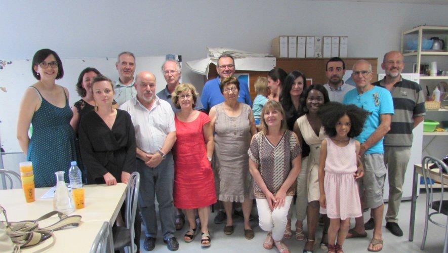 Les lauréats et l'équipe de l'URQR.
