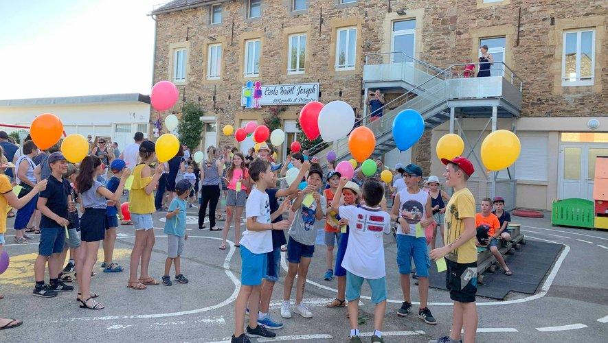 La kermesse de l'école Saint-Joseph a fait la joie des petits et des grands