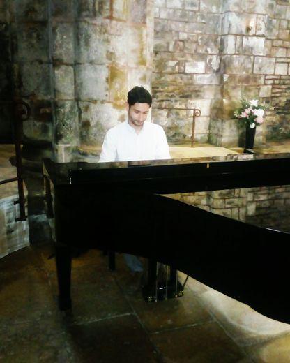 Après Conques, Gilles Liacopoulossera en concert à Sénergues.