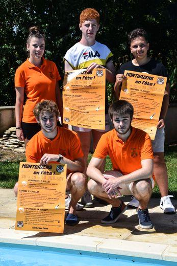 Les jeunes présentent le programme