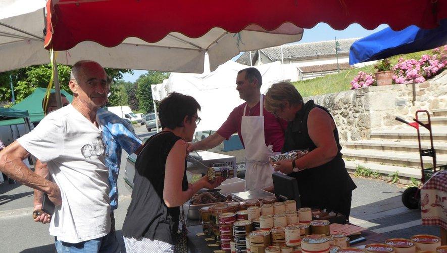 Le marché aura lieu samedi matin.