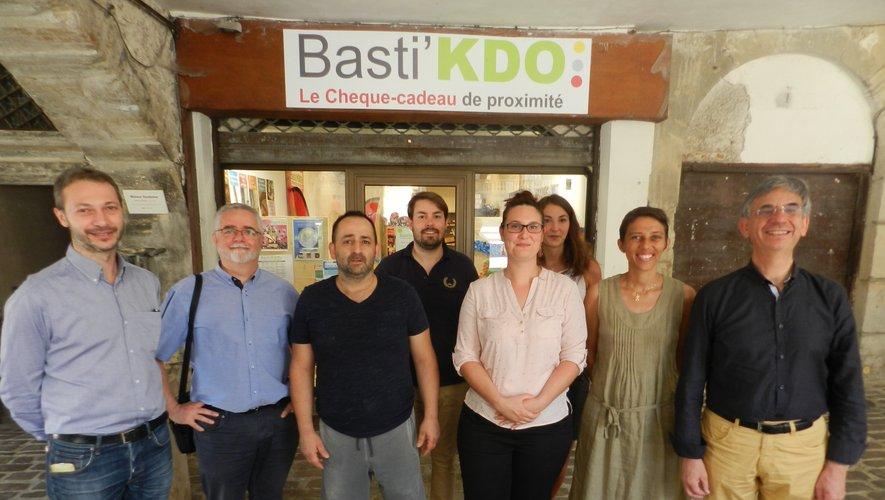 Élus, commerçants et techniciens soulignent la réussite du Basti'Kdo.