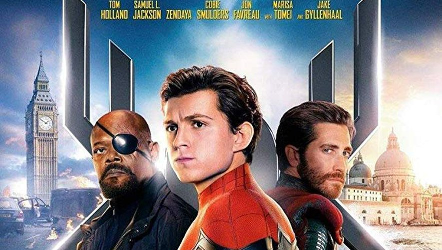 "AFFICHE: ""Spider-Man: Far From Home""."