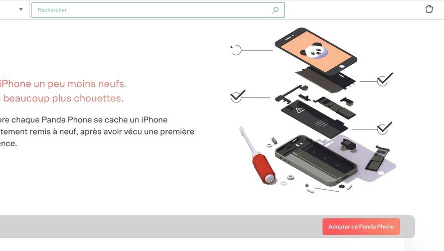 Back Market lance l'opération Panda Phone en partenariat avec le WWF France.