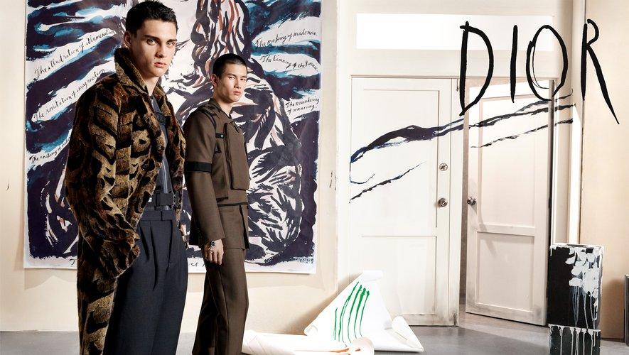 La campagne automne-hiver 2019-2020 de Dior Homme.