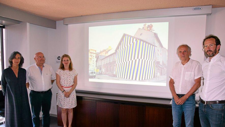 L'ancien pavillon Saint-Michel, rue Béteille, sera repeint par Nicolas Delpech.