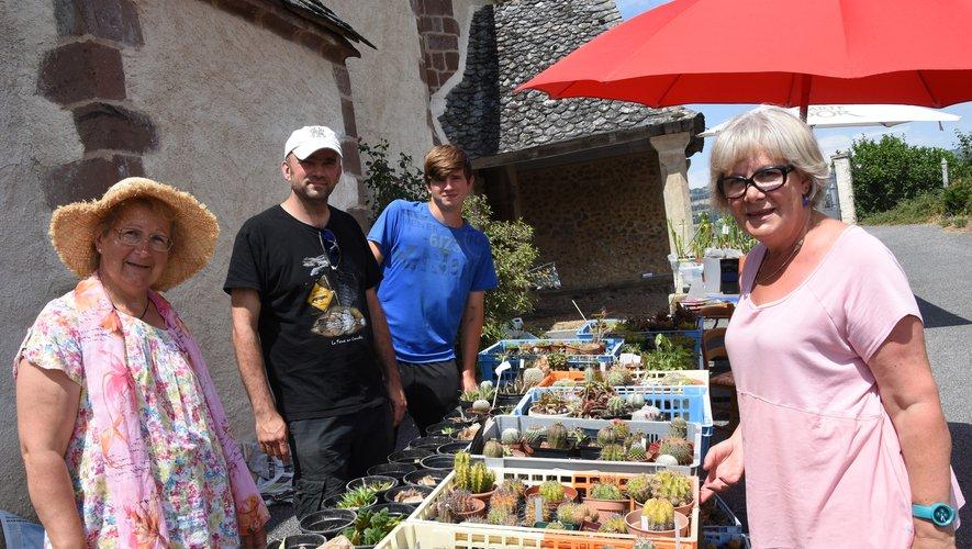 Plantes carnivores, cactées, orchidées  en vedette à Calmont