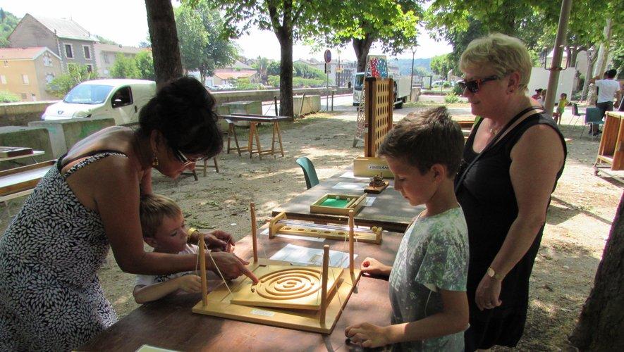 Divers jeux ou ateliers étaient proposés aux enfants.