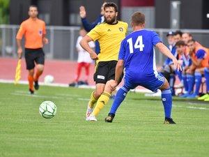 Joris Chougrani et les Ruthénois ont dominé Villefranche (Nat.) 3-2, en amical mardi à Millau.