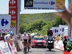 Les deux difficultés répertoriées le long des quelque 115 km parcourus par le Tour en Aveyron sont classées en 3e catégorie.
