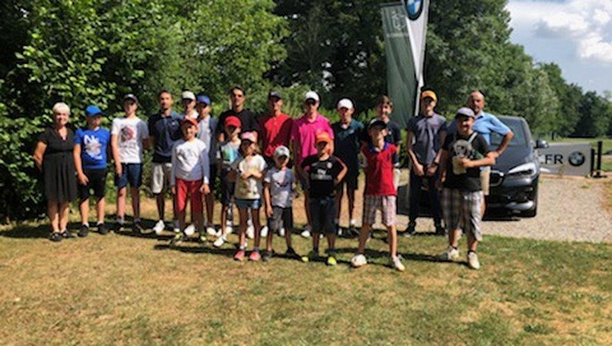 Rendez-vous ce week-end à Téoula, pour les jeunes golfeurs.
