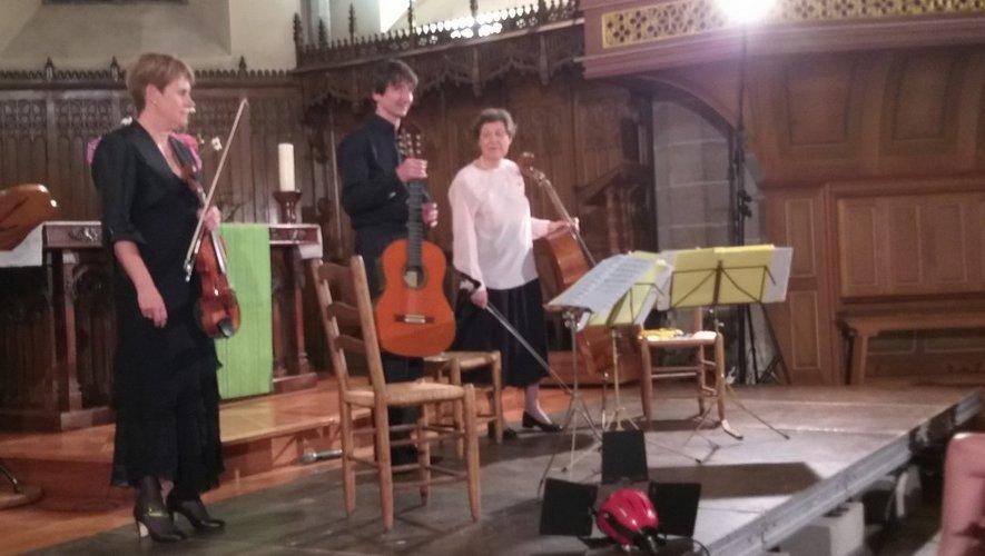 Le trio Boccherini a fait vibrer le public