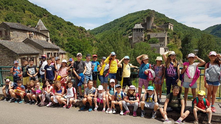 Les élèves ont participé à une visite guidée du site.