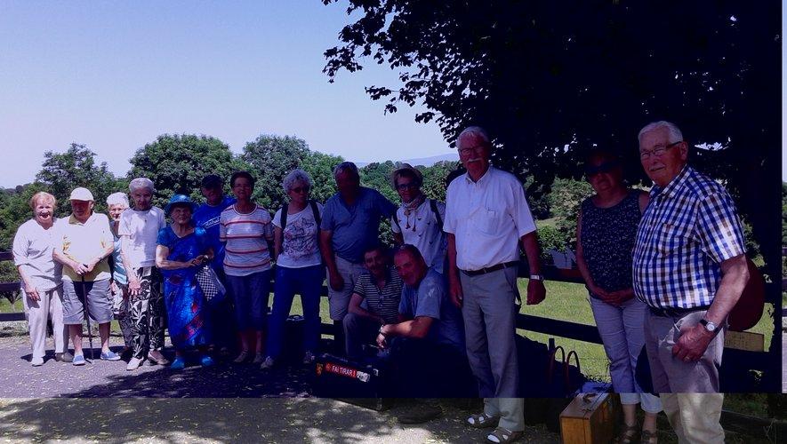 Les musiciens ont visité le musée  de la cabrette à Vines de Cantoin