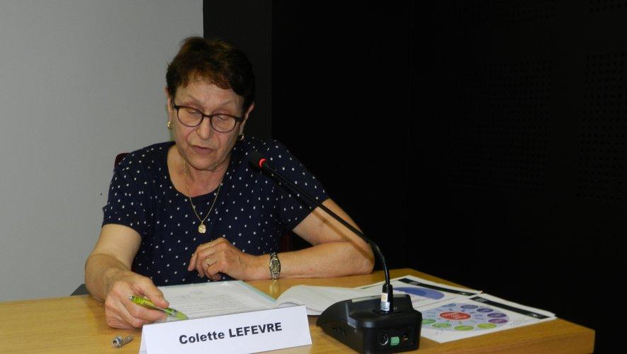 Colette Lefèvre est une fervente partisane du Point Infos Seniors.