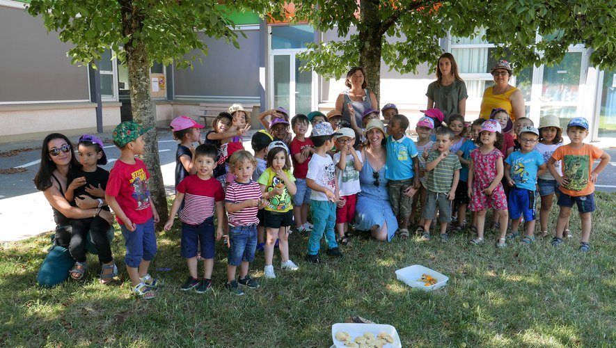 A l'école Jean Laroche, les vacances ont bien débuté pour les enfants