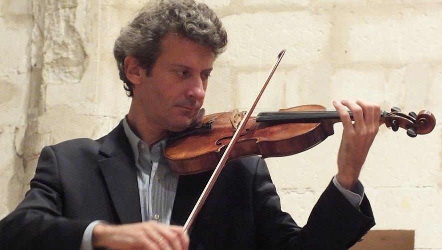 Le Figeacois, Olivier Pons au violon.