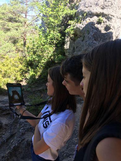 Les adolescents, notamment, prennent plaisir à découvrir le site grâce à un nouveau concept ludique : l'explorGame.