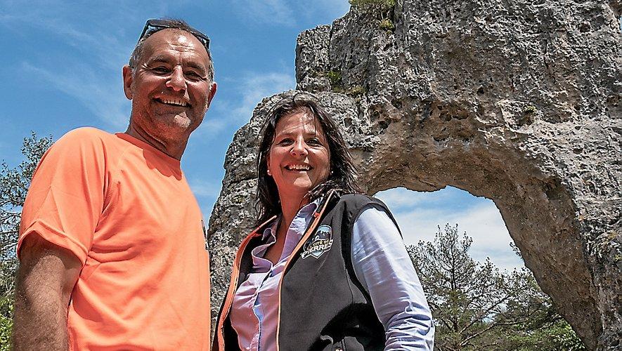 Serge Duffau et Christel Caruso Gaillard misent sur un nouveau parcours parsemé de défis et d'énigmes pour attirer de nouveaux visiteurs.
