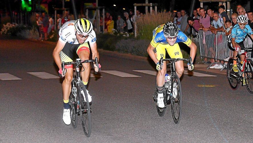Il avait fallu attendre le sprint pour voir Alex Molin-Pradel (à gauche) l'emporter l'an dernier. Assistera-t-on à un scénario similaire ce dimanche soir ?