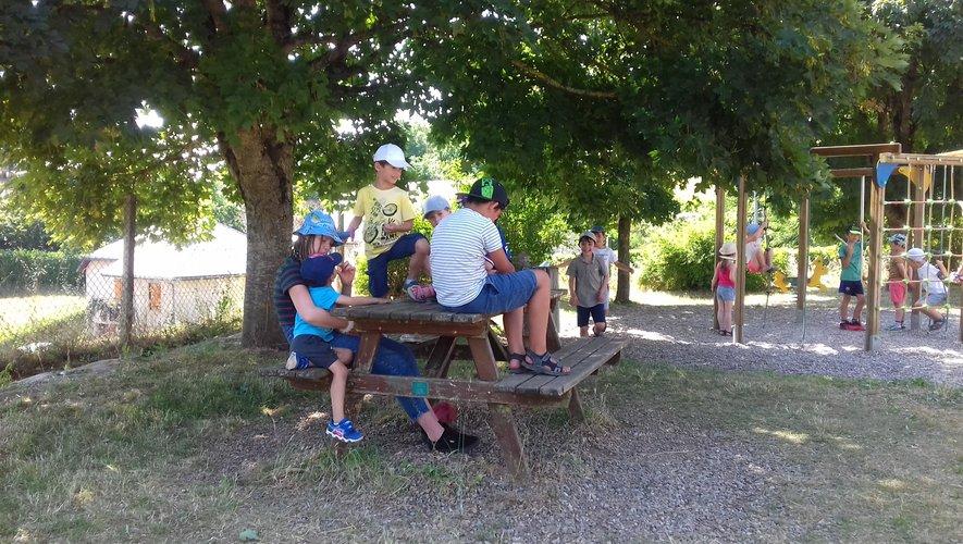 Jour de rentrée  8 juillet à la Grange aux enfants du Monastère pour les plus grands
