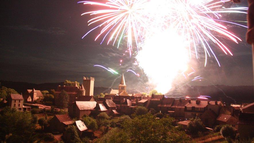 Le grand feu d'artifice clou des 3 jours de festivités.