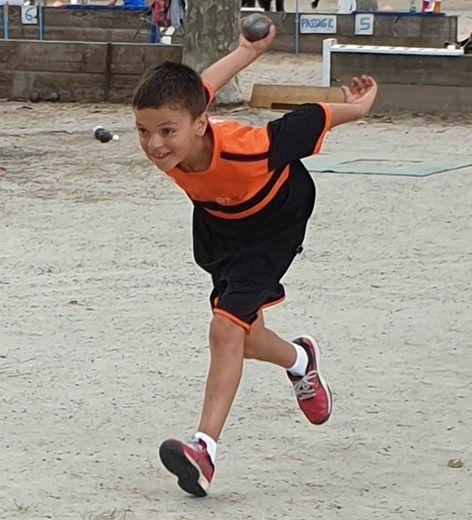 Noé Gardes, 11 ans et déjà champion.