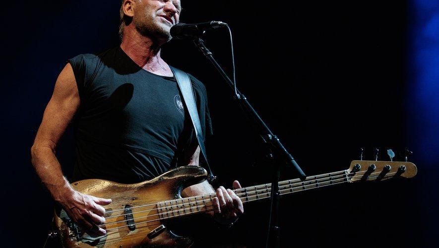 """""""Sting reprendra sa tournée à Lyon"""", a indiqué Live Nation France"""