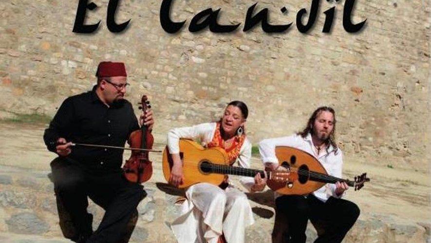 El Candil, trois troubadours qui vont offrir au public un panel de créations originales.