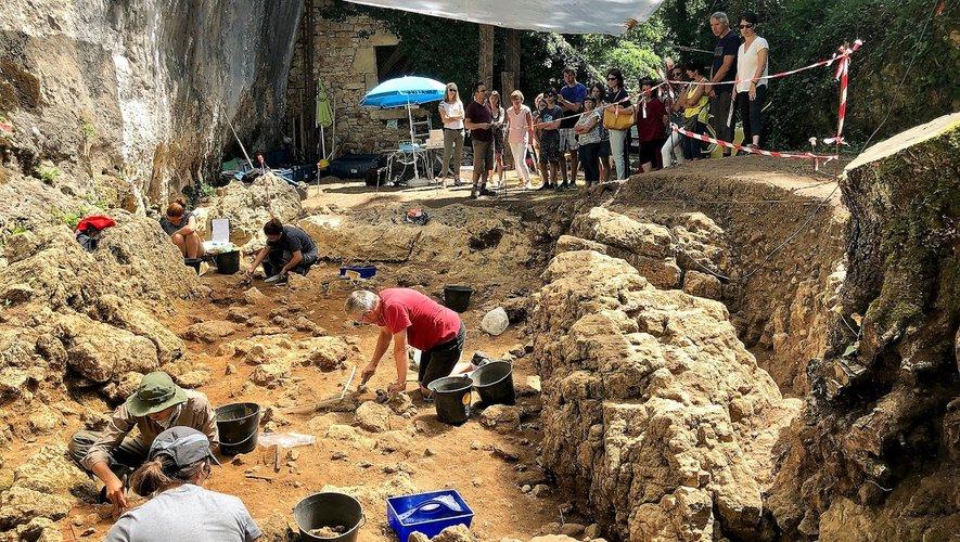 Thomas Perrin présentera le chantier des fouilles de Roquemissou.