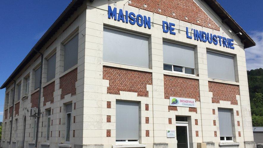 La Maison de l'industrie, centre névralgique de Decazeville communauté.