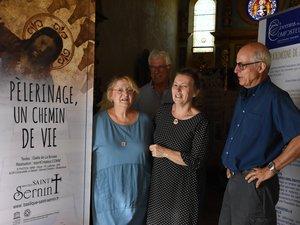 Groupe de coopération,mairie et Amis de la chapelle heureux de cette initiative.