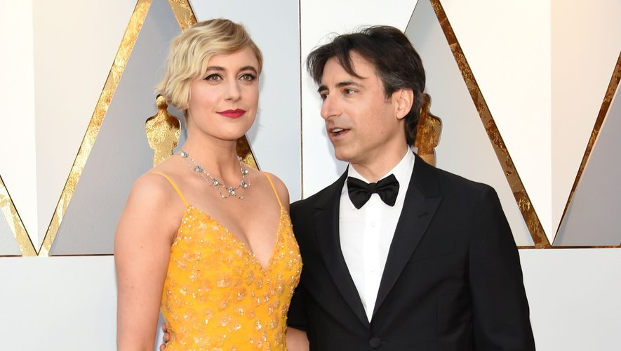"""Greta Gerwig (à gauche) et Noah Baumbach ont déjà collaboré ensemble sur la comédie dramatique """"Mistress America"""" en 2015."""