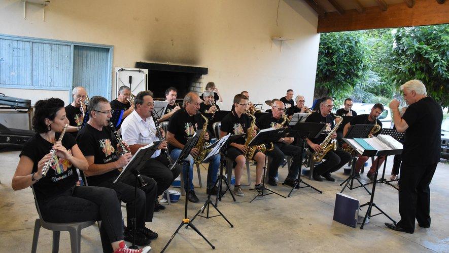 L'Harmonie en concert au Village de Vacances