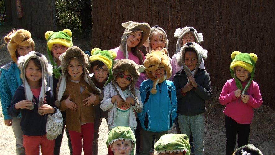 Les plus jeunes de l'école publique en voyage de fin d'année