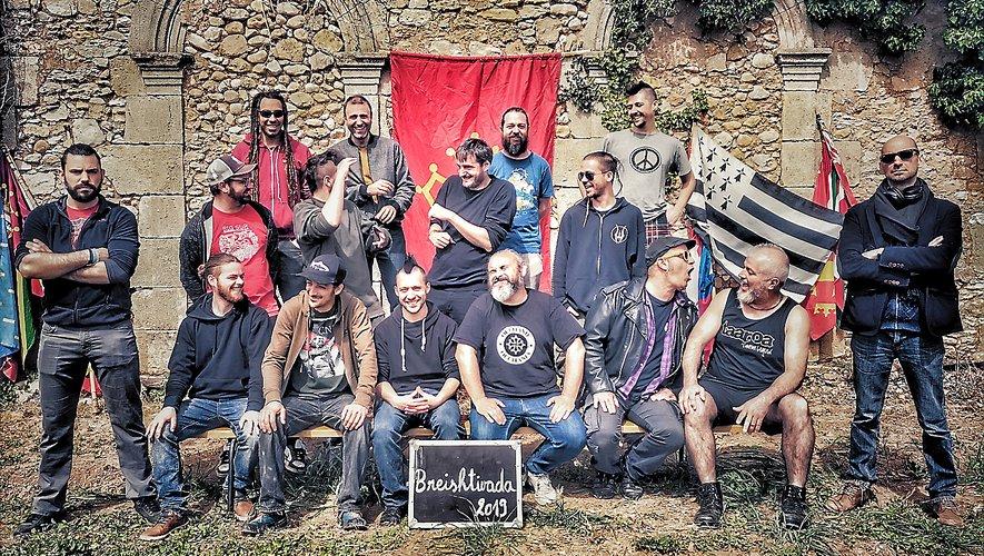 Samedi soir, les groupes Mauresca Fracas Dub (Oc), Mask ha Gazh (Breizh) et Goulamask (oc) proposerons une création commune baptisée « Breishtivada ».