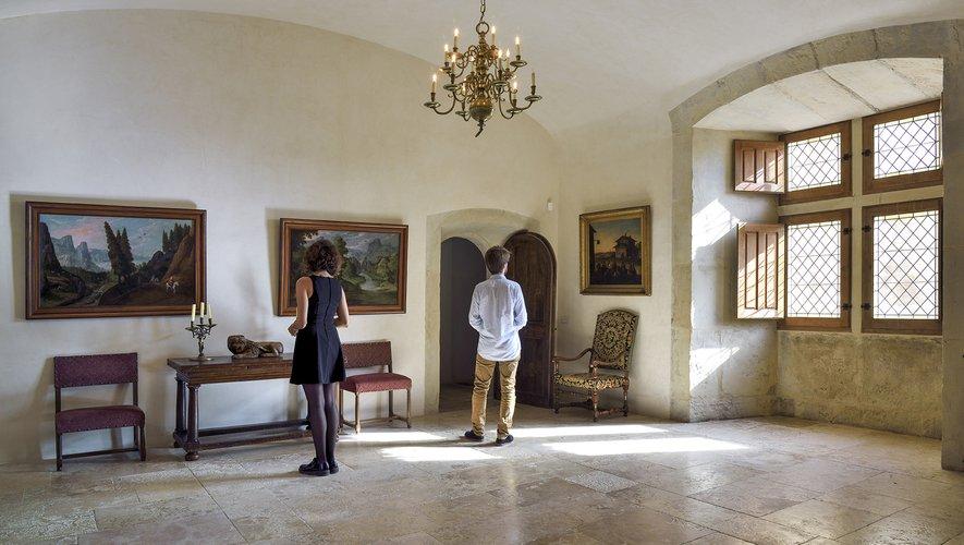 Une visite de la collection du château est organisée samedi 20 juillet.