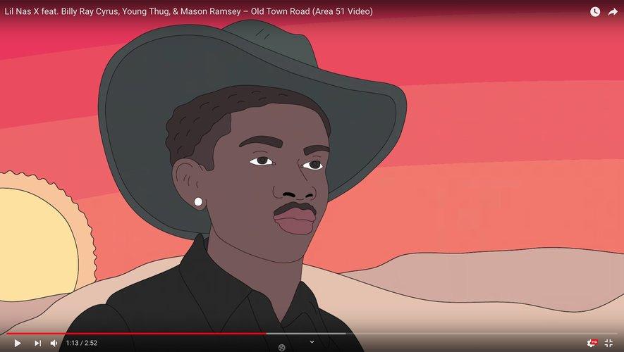 """Lil Nas X dévoile un nouveau clip en animé pour son titre """"Old Town Road"""""""