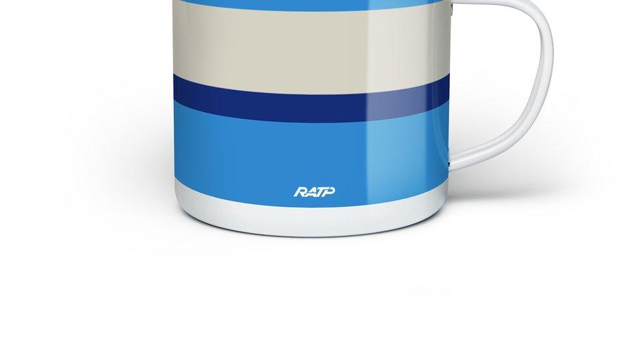 Un mug pour les 70 ans de la RATP