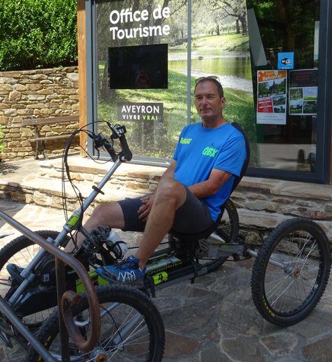 François vous attend avec le quad bike