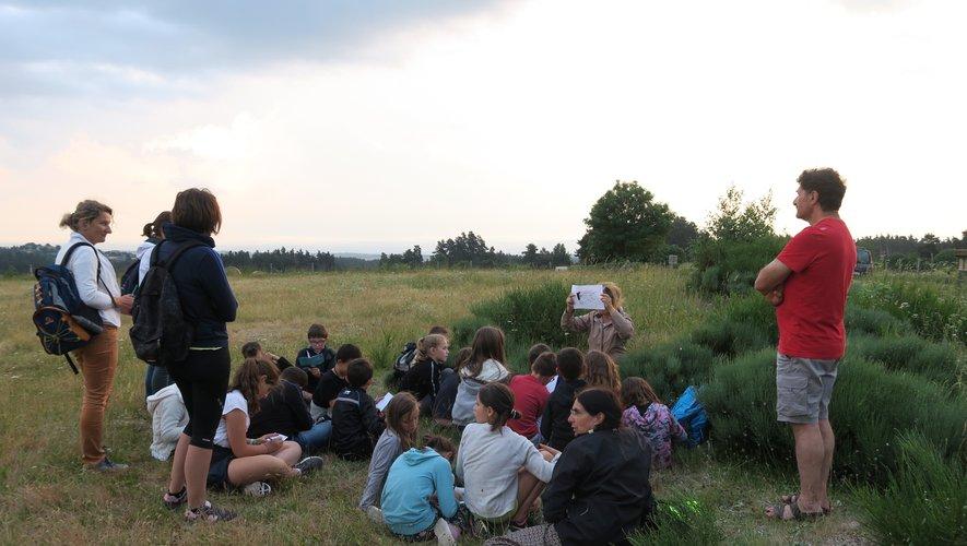 Des élèves de Lozère ont travaillé sur la nuit sur l'Aubrac.